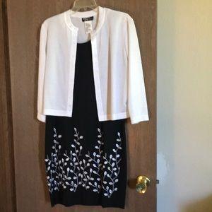 Cardigan dress set